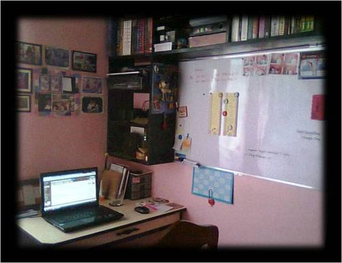 A virtual assistant's work station. (where the magic happens)